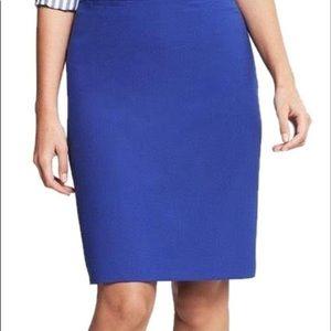 Royal Blue Pencil Skirt